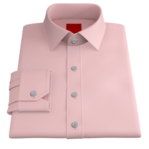 Crisp Powder Pink Oxford
