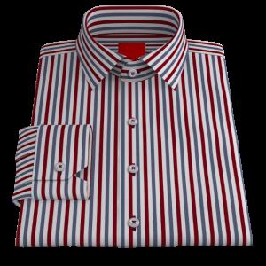 Bold Red Blue Stripes