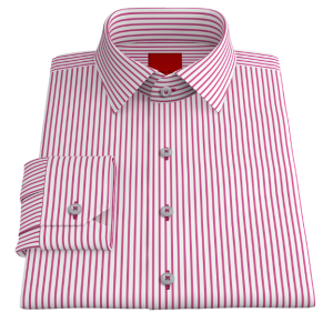 Pink Striped Oxford