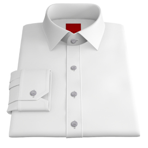 Pinpoint White Oxford