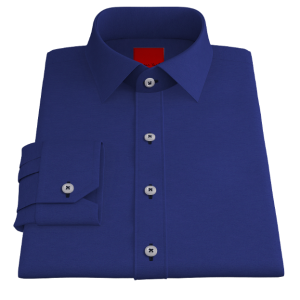 Royal Blue Oxford