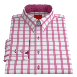 VY Bold Pink Check