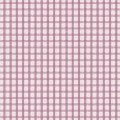 Pink Checked Twill
