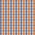 Orange Blue Country Check