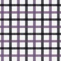 Purple Navy Check Twill