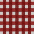 Red Check Twill