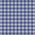 VY Royal Blue Gingham Twill